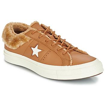 Obuća Žene  Niske tenisice Converse ONE STAR LEATHER OX Camel