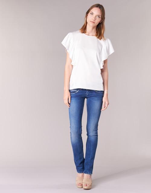 Odjeća Žene  Traperice ravnog kroja Pepe jeans VENUS Blue