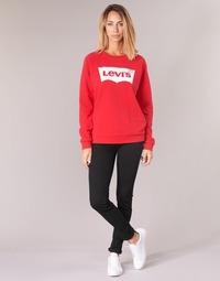 Odjeća Žene  Skinny traperice Levi's 711 SKINNY Crna / Sheep