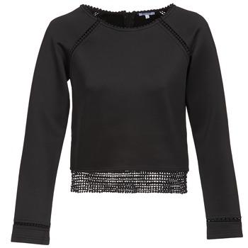 Odjeća Žene  Sportske majice Brigitte Bardot AMELIE Crna