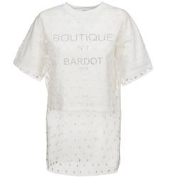 Odjeća Žene  Sportske majice Brigitte Bardot ANASTASIE Krémově bílá