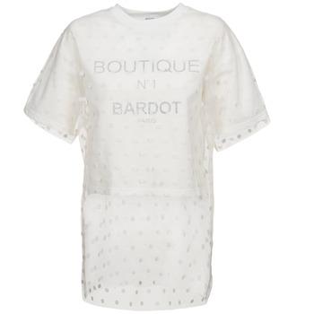 Odjeća Žene  Sportske majice Brigitte Bardot ANASTASIE Krem boja
