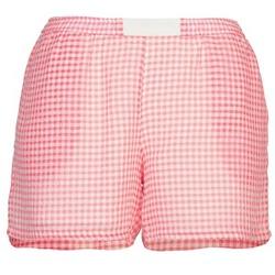 Odjeća Žene  Bermude i kratke hlače Brigitte Bardot ANNE Red / Bijela