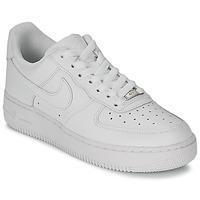 Obuća Žene  Niske tenisice Nike AIR FORCE 1 07 LEATHER W Bijela