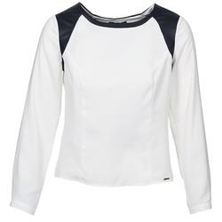 Odjeća Žene  Topovi i bluze La City LAETITIA Krem boja / Crna