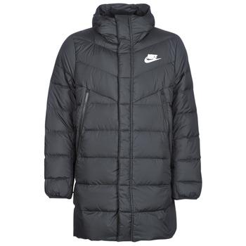 Odjeća Muškarci  Pernate jakne Nike BRENLA Crna