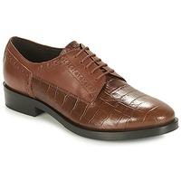 Obuća Žene  Derby cipele Geox DONNA BROGUE Smeđa