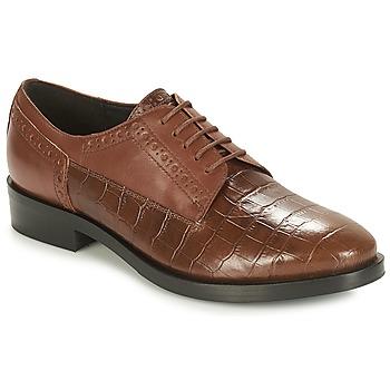 Obuća Žene  Derby cipele Geox DONNA BROGUE Brown