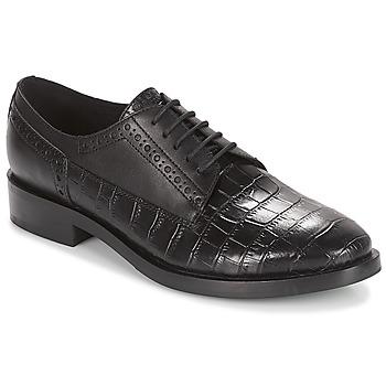 Obuća Žene  Derby cipele Geox DONNA BROGUE Crna