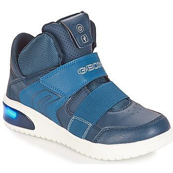 Obuća Dječak  Visoke tenisice Geox J XLED BOY Blue