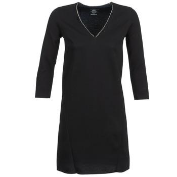 Odjeća Žene  Kratke haljine Majestic BRUNEHILDE Crna