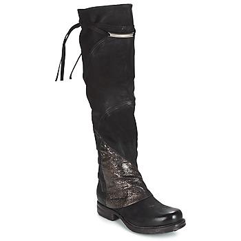 Obuća Žene  Čizme iznad koljena Airstep / A.S.98 SAINT EC PATCH Crna