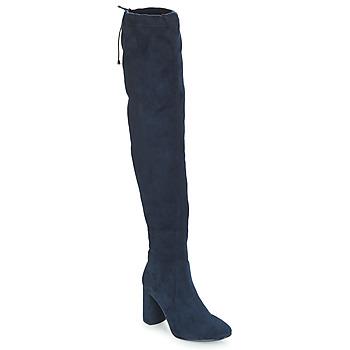 Obuća Žene  Čizme iznad koljena André VELOURS Blue