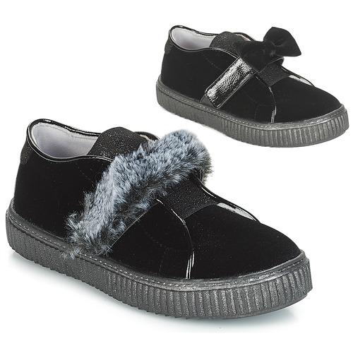 Obuća Djevojčica Slip-on cipele André MAMMOUTH Crna