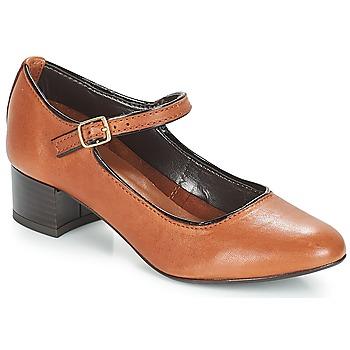 Obuća Žene  Balerinke i Mary Jane cipele André FOLLOW Smeđa