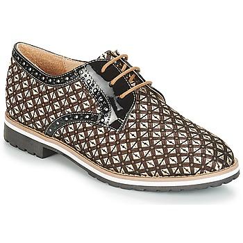 Obuća Žene  Derby cipele André DERIVEUR Smeđa