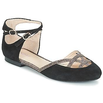 Obuća Žene  Balerinke i Mary Jane cipele André POUPETTE Crna