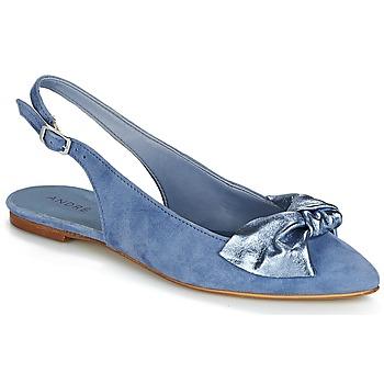 Obuća Žene  Balerinke i Mary Jane cipele André LARABEL Blue