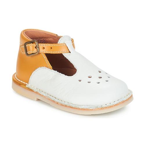Obuća Djevojčica Balerinke i Mary Jane cipele André FALAISE Krem boja