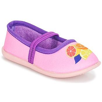Obuća Djevojčica Balerinke i Mary Jane cipele André CITRONNADE Ružičasta