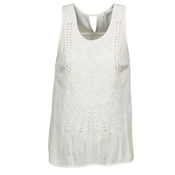 Odjeća Žene  Majice s naramenicama i majice bez rukava See U Soon CHELSEA Bijela / Siva