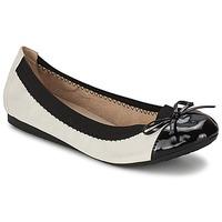 Obuća Žene  Balerinke i Mary Jane cipele Moony Mood EDOUMI Bijela / Crna