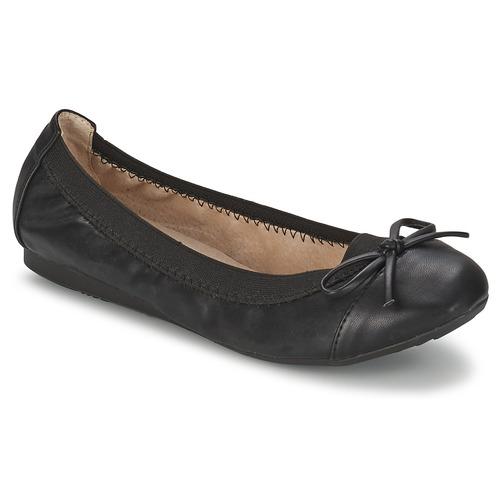 Obuća Žene  Balerinke i Mary Jane cipele Moony Mood ELALA Crna