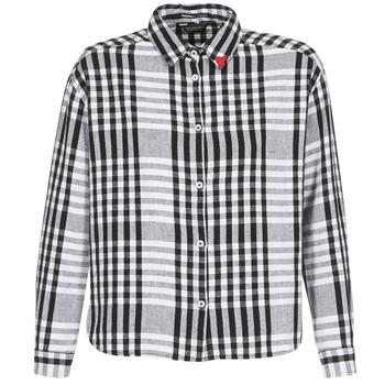 Odjeća Žene  Košulje i bluze Maison Scotch FRINDA Crna / Bijela