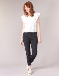 Odjeća Žene  Cargo hlače Maison Scotch ZERATRE Crna / Bijela