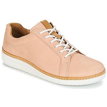 Obuća Žene  Derby cipele Clarks Amberlee Rosa Nude / Nubuck