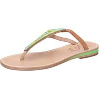 Obuća Žene  Sandale i polusandale Eddy Daniele sandali multicolor pelle perline aw384 Multicolore