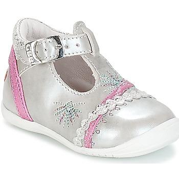 Obuća Djevojčica Balerinke i Mary Jane cipele GBB MARINA Vte / Srebrna-boja fuksije / Dpf / Kezia