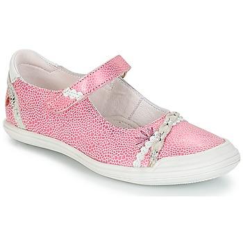 Obuća Djevojčica Balerinke i Mary Jane cipele GBB MARION Vte / Ružičasta-bijela / Dpf / Zara
