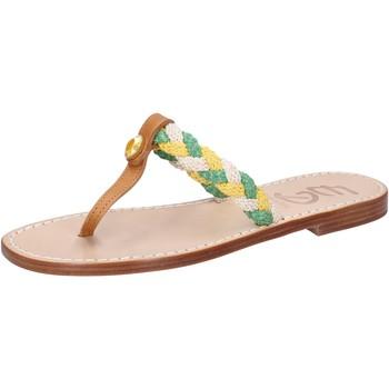 Obuća Žene  Sandale i polusandale Eddy Daniele sandali multicolor pelle corda ax790 Multicolore