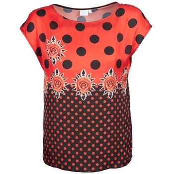 Odjeća Žene  Majice kratkih rukava Alba Moda BETTINA Red / Crna