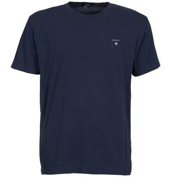 Odjeća Muškarci  Majice kratkih rukava Gant THE ORIGINAL SOLID T-SHIRT Blue