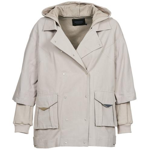 Odjeća Žene  Kratke jakne Eleven Paris NOLINDA Siva