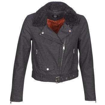 Odjeća Žene  Kožne i sintetičke jakne Only ONLCAROL Crna