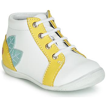 Obuća Djevojčica Visoke tenisice GBB FRANCKIE Bijela / Žuta