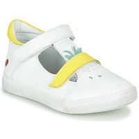 Obuća Djevojčica Visoke tenisice GBB ARAMA Vte / Bijela-žuta / Dpf / Trilly