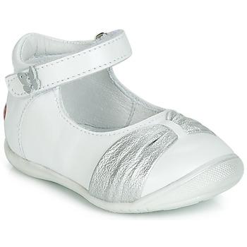 Obuća Djevojčica Balerinke i Mary Jane cipele GBB MALLA Bijela / Srebrna