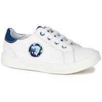 Obuća Dječak  Niske tenisice GBB URSUL Vte / Bijela-plava / Led / Dpf / 2706