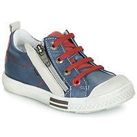 Obuća Dječak  Niske tenisice GBB STELLIO Vte / Mornarsko plava-boja krede / Dpf / Lucky