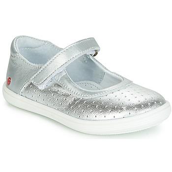 Obuća Djevojčica Balerinke i Mary Jane cipele GBB PLACIDA Srebrna