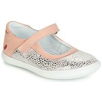 Obuća Djevojčica Balerinke i Mary Jane cipele GBB PLACIDA Vte / Ružičasta-srebrna / Dpf / Cuba