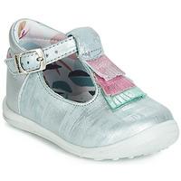 Obuća Djevojčica Balerinke i Mary Jane cipele Catimini BIMA Vte / Blue / Boja čelika-srebrna / Dpf / Gluck