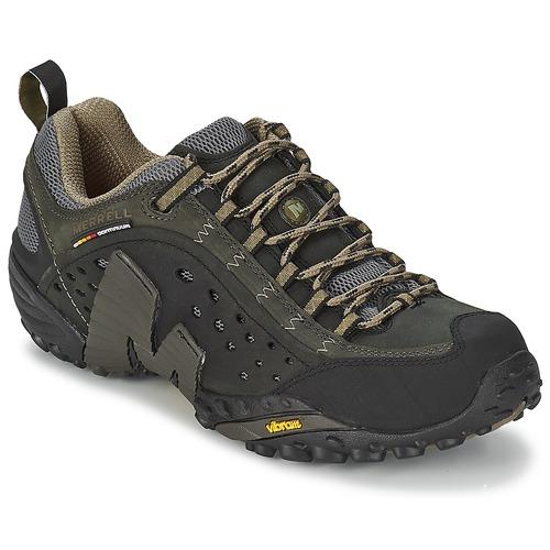 Obuća Muškarci  Pješaćenje i planinarenje Merrell INTERCEPT Crna