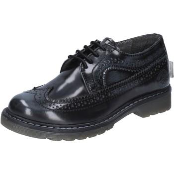 Obuća Dječak  Derby cipele Beverly Hills Polo Club POLO classiche grigio pelle lucida BX866 Grigio