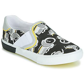 Obuća Dječak  Slip-on cipele Catimini CAMAZO Bijela / Crna