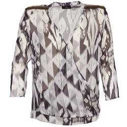 Odjeća Žene  Topovi i bluze One Step CREPUSCULE Siva / Bijela